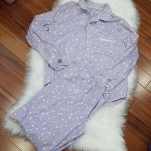 DKNY Pajama Set, Size Medium,  Lavender